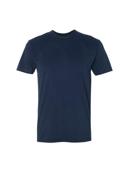 TankFarm Blank Tee - TF SUEDED CREW- NAVY
