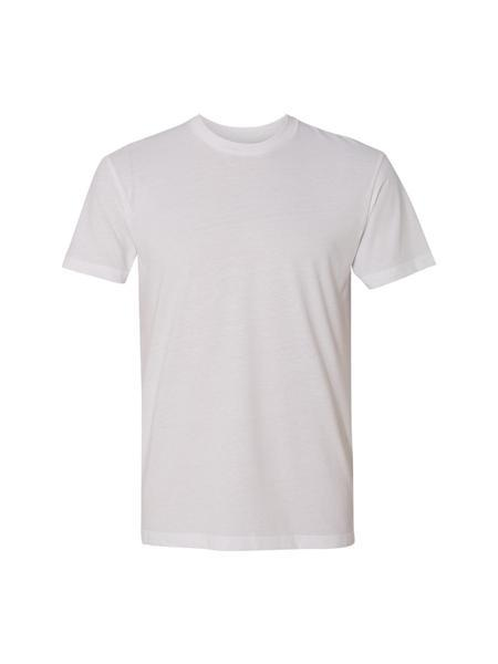 TankFarm Blank Tee - TF SUEDED CREW- WHITE