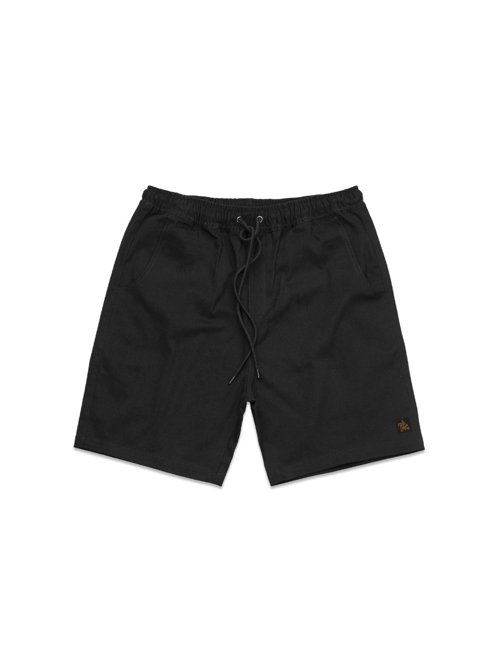 THE WALK SHORTS- BLACK - Tankfarm & Co.