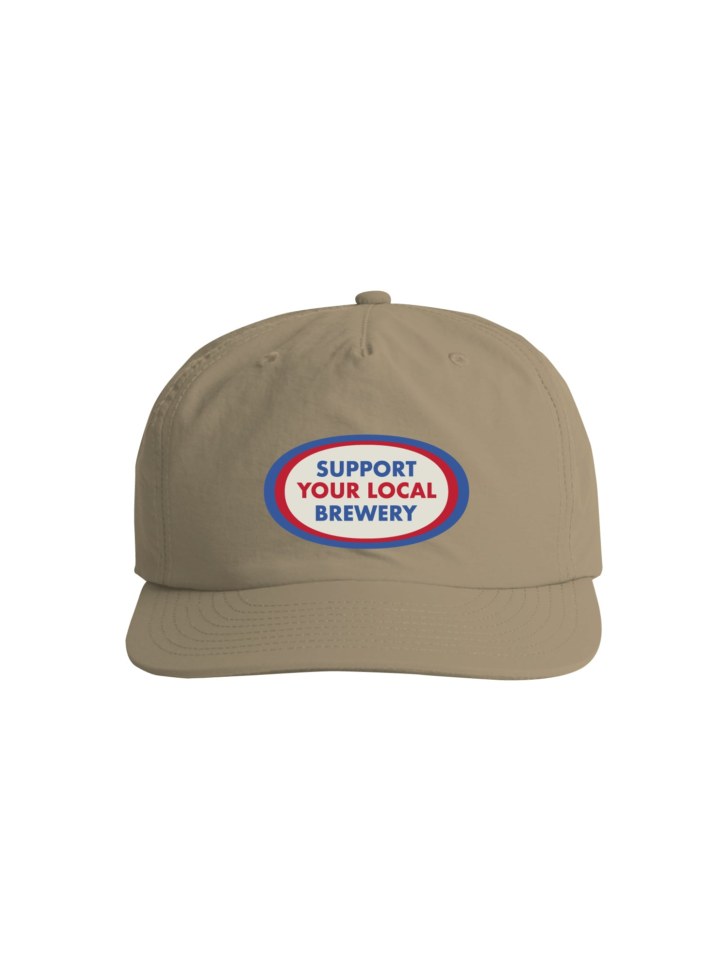 SUPPORT YOUR LOCAL BREWERY SURF CAP - KHAKI - Tankfarm & Co.