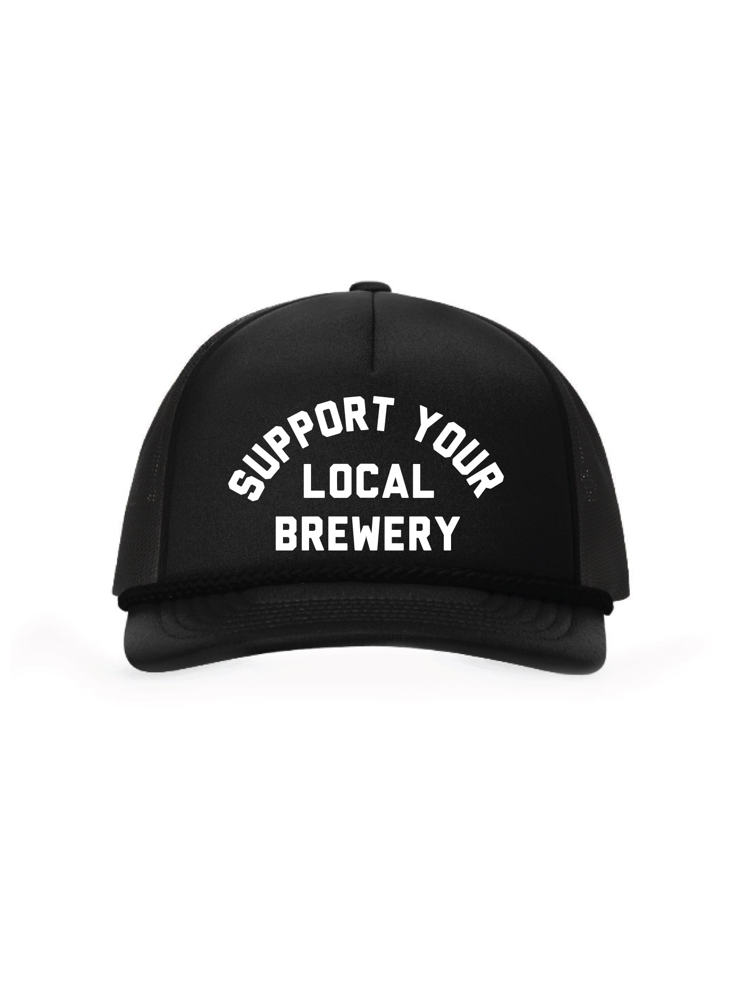 SUPPORT YOUR LOCAL BREWERY FOAM TRUCKER HAT - Tankfarm & Co.