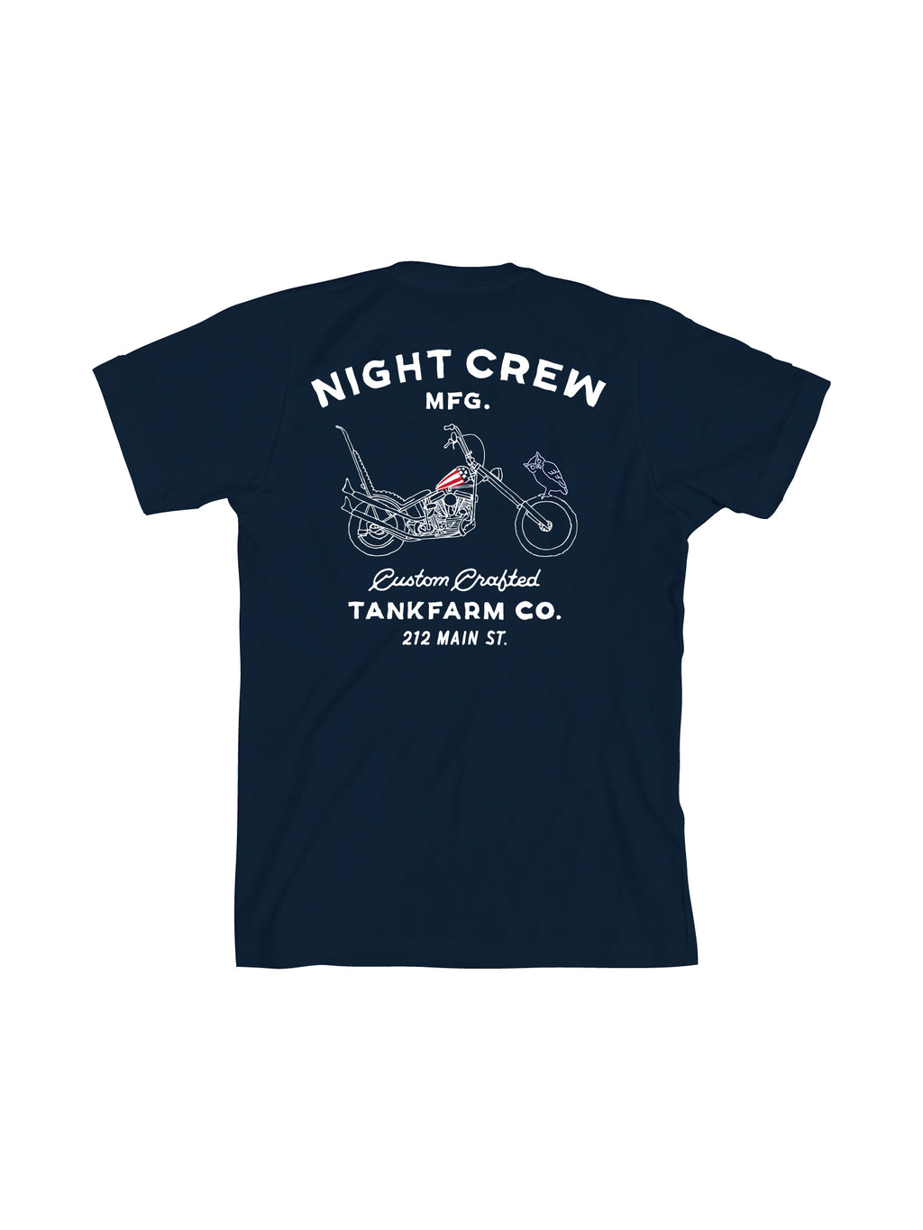 NIGHT CREW MANUFACTURING - NAVY - Tankfarm & Co.