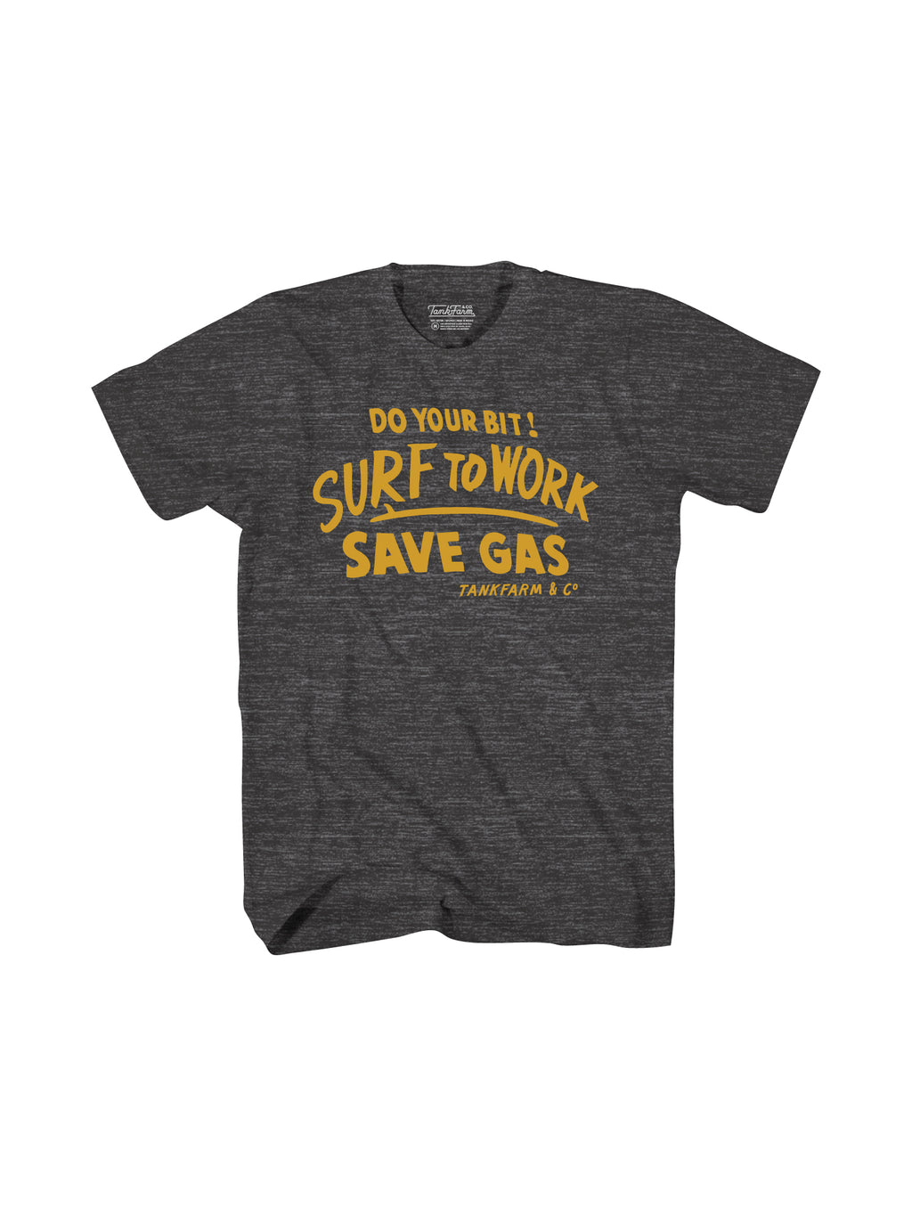 SURF TO WORK - BLACK ONYX - Tankfarm & Co.