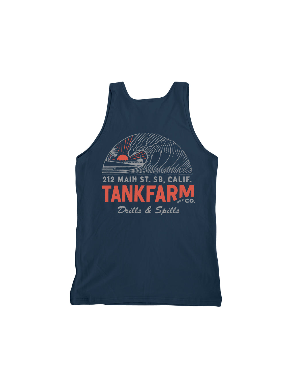 DRILLS & SPILLS TANK - NAVY - Tankfarm & Co.