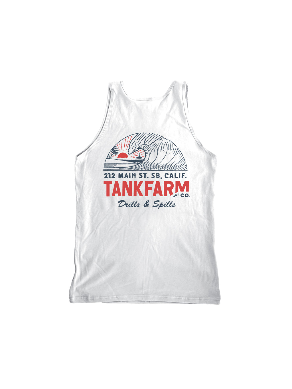 DRILLS & SPILLS TANK- WHITE - Tankfarm & Co.