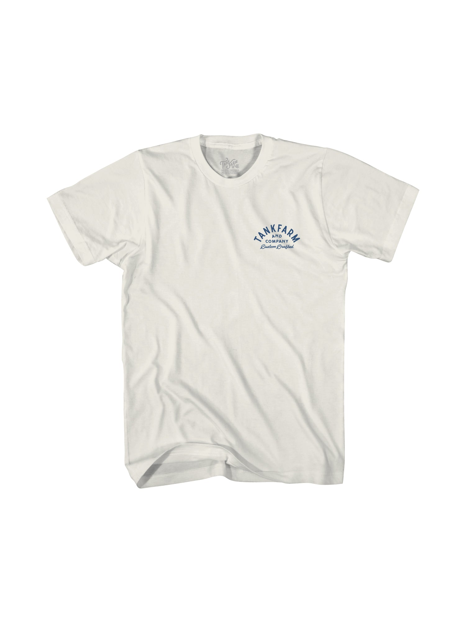 CRAFTED IN SB - WHITE/NAVY - Tankfarm & Co.