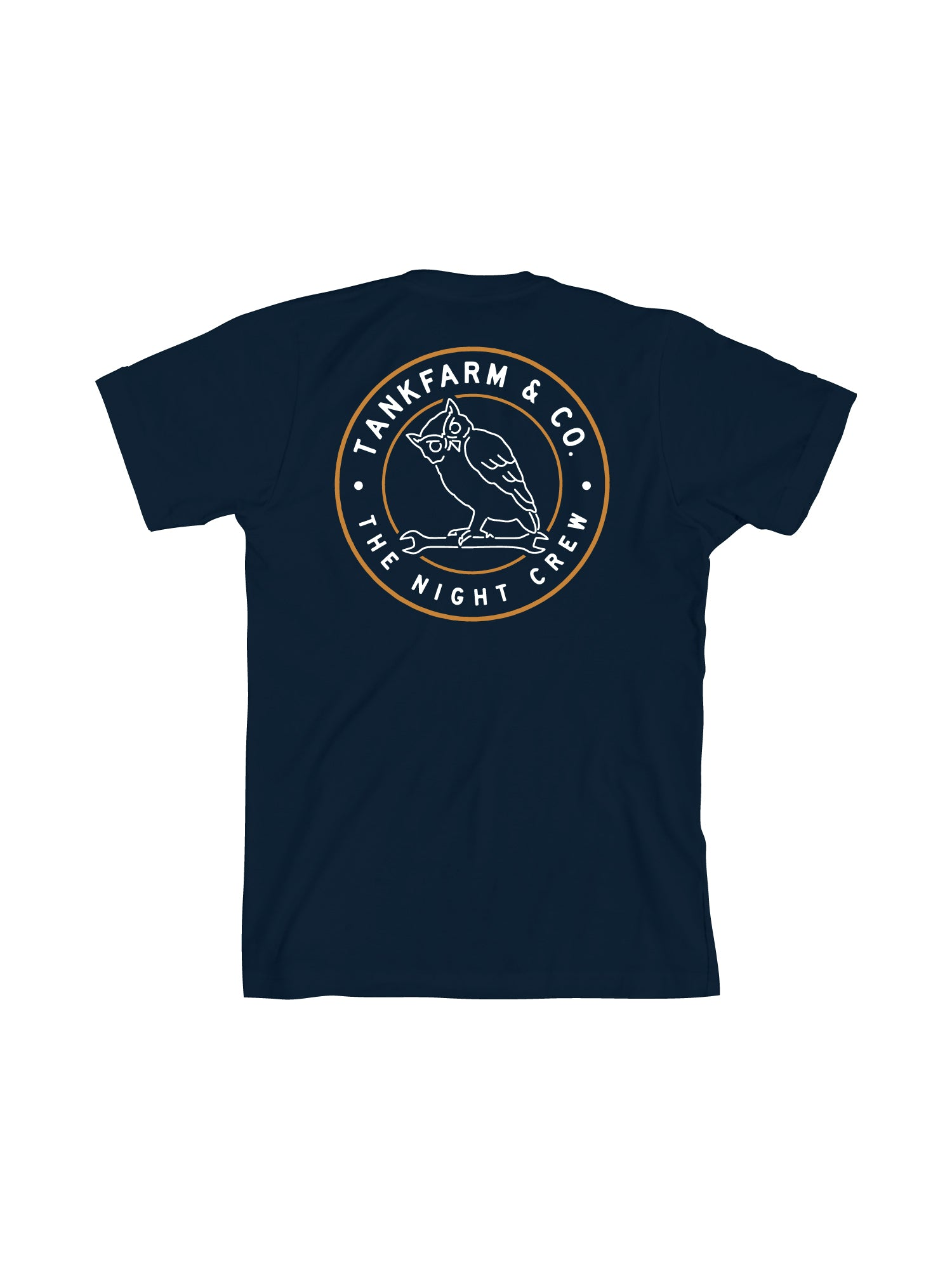 NIGHT CREW STAMP - NAVY - Tankfarm & Co.