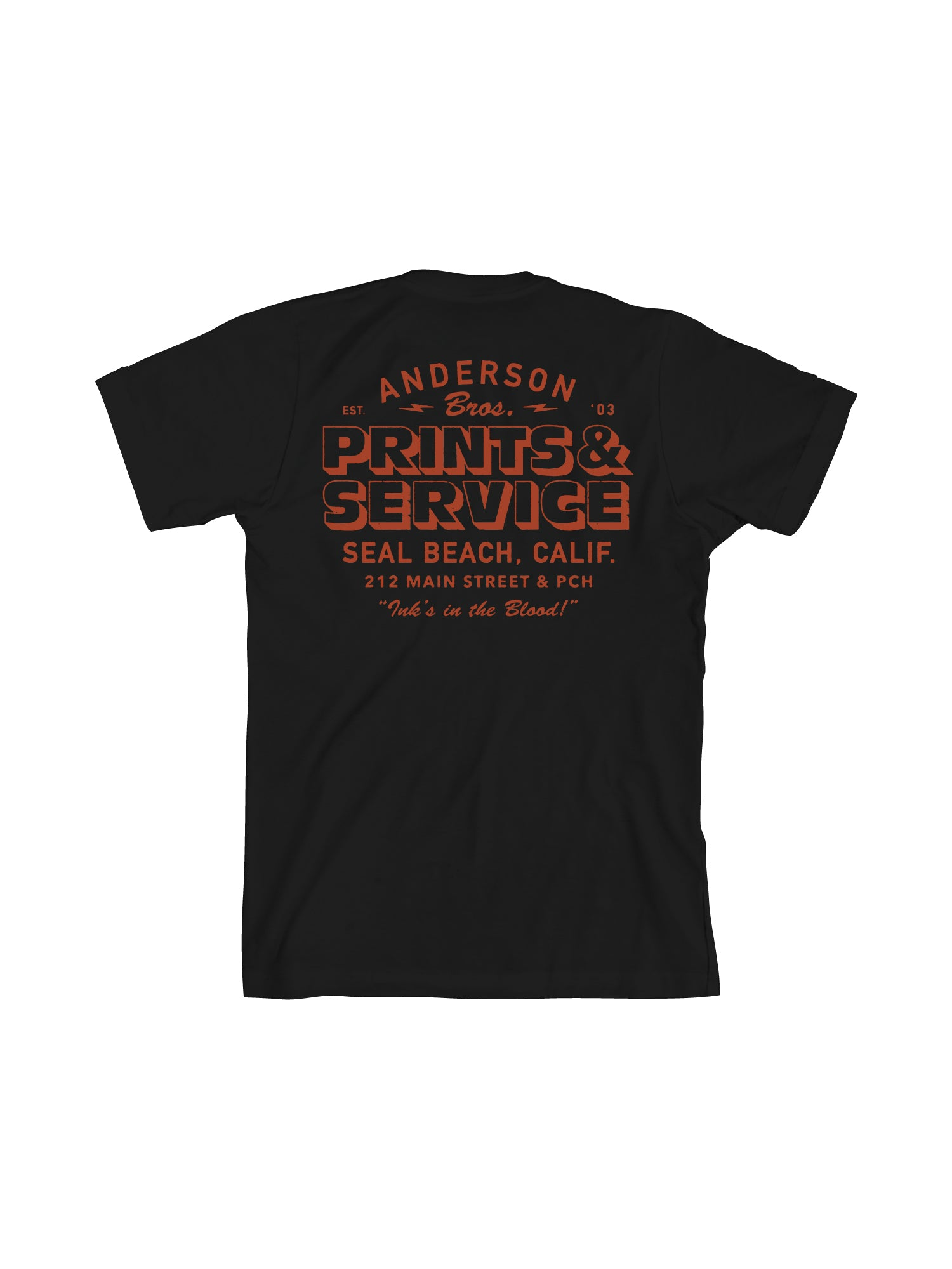 ANDERSON PRINTS & SERVICES - BLACK - Tankfarm & Co.