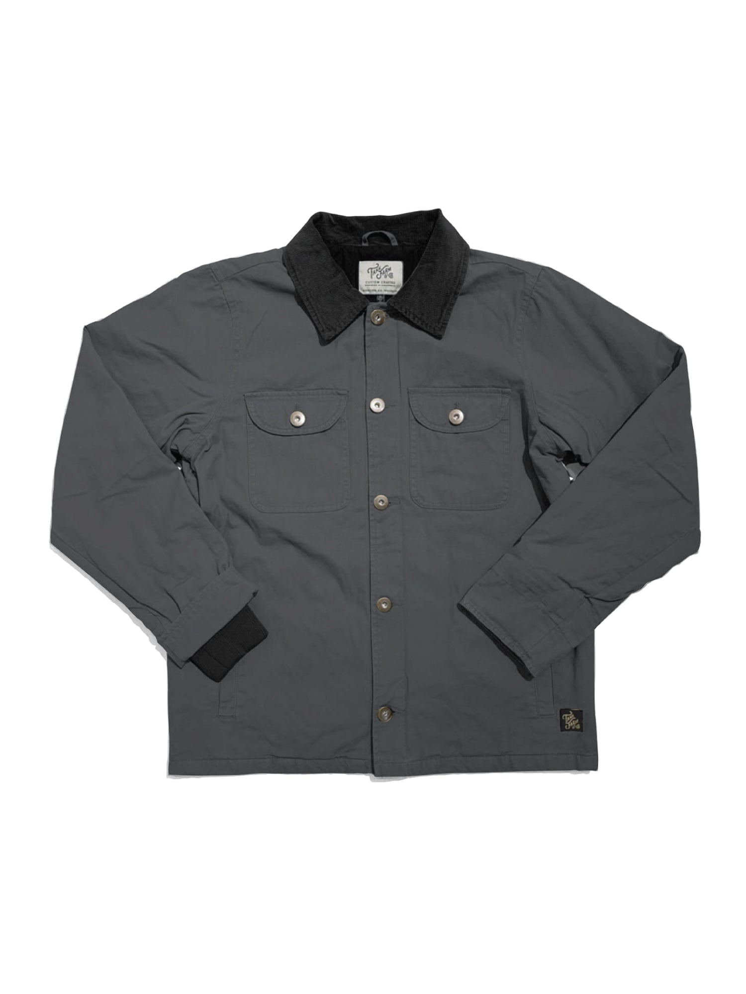 RICHARD JACKET - CHARCOAL - Tankfarm & Co.