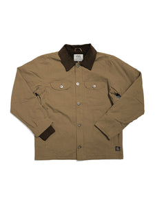 RICHARD JACKET - KHAKI - Tankfarm & Co.