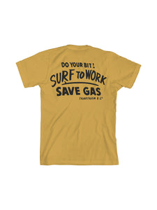 SURF TO WORK - VINTAGE GOLD - Tankfarm & Co.