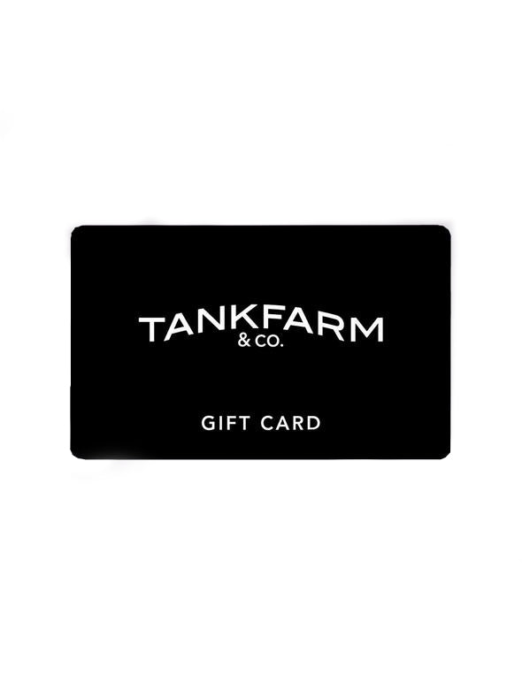 GIFT CARD - Tankfarm & Co.