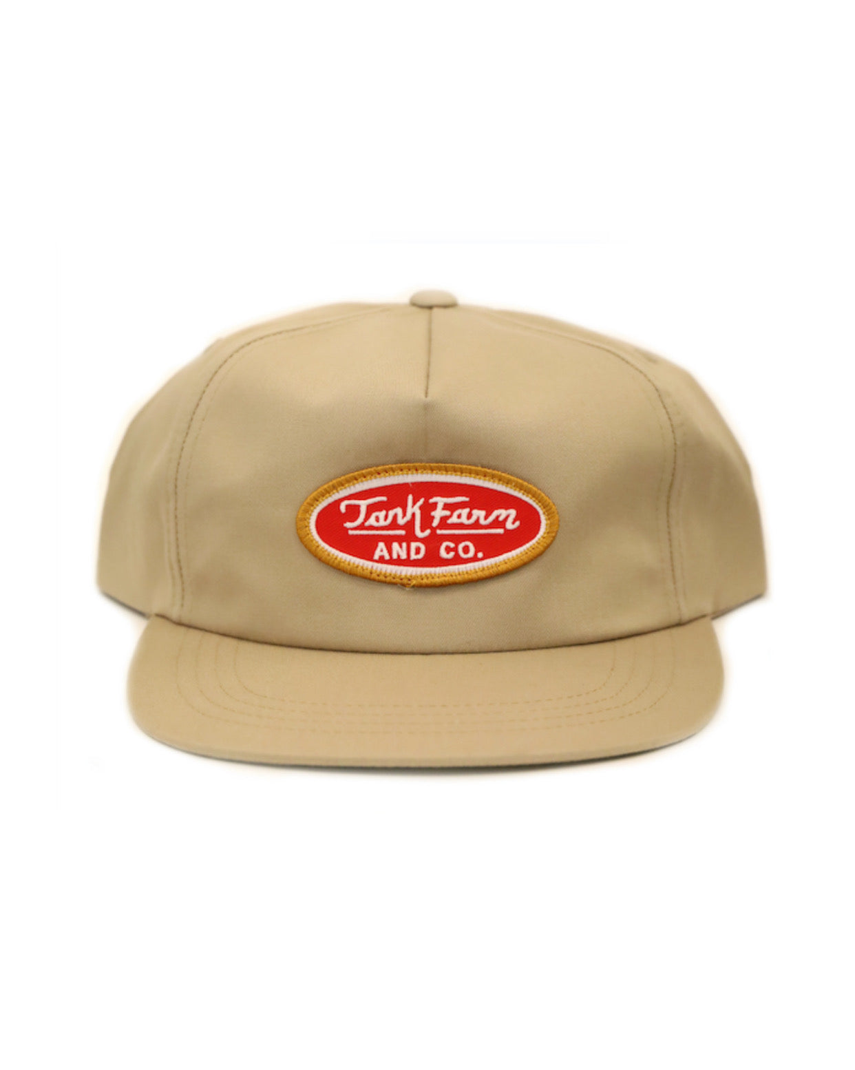 FUELER PATCH SNAPBACK - KHAKI - Tankfarm & Co.
