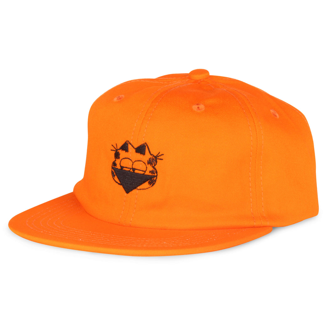 Shakastics x Ken Kagami 3 - Unstructured 6 Panel Hat Orange
