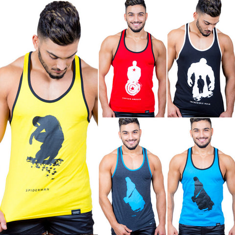 321c925f Taddlee Brand 5-pack Men's Tank Tops T shirt Sleeveless Undershirts Male  Bodybuilding Cotton Gym