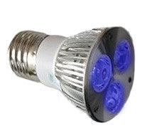 3W PAR16 LED BLUE ACTINIC