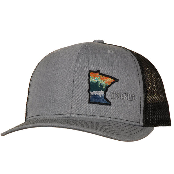 Minnesota at the lake hat heather black StateRun