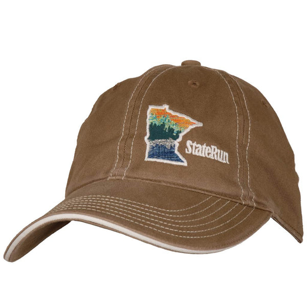 Minnesota at the lake hat soft driftwood StateRun
