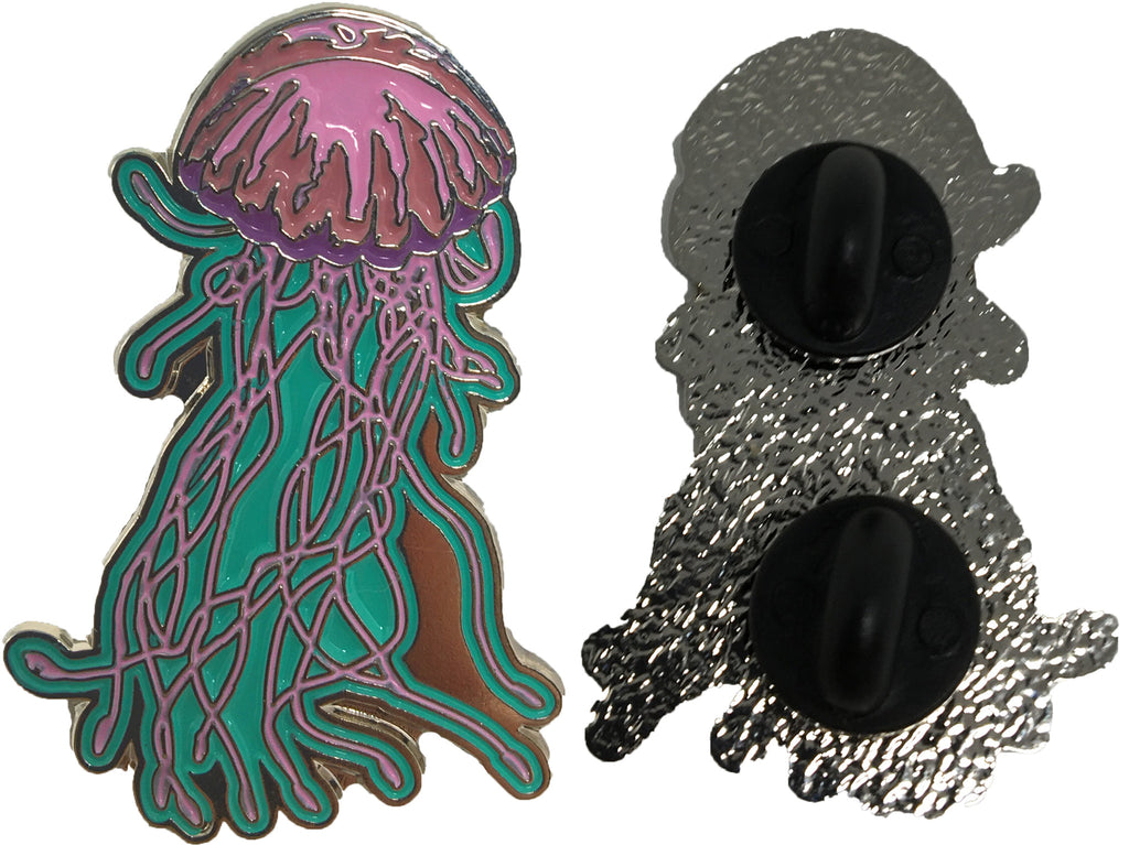 Jellyfish Enamel Pin