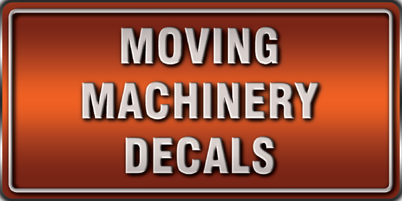 moving machinery decals