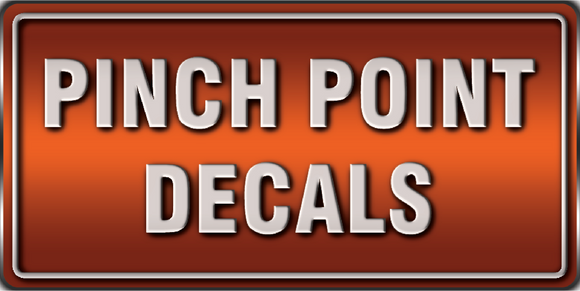pinch point decals