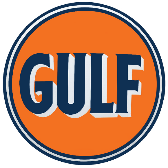 Gulf petroliana decal
