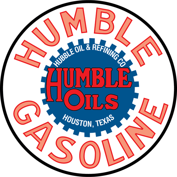 Humble oils petroliana decal