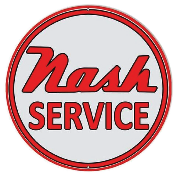 nash service petroliana decal