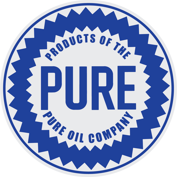 pure oil company petroliana decal