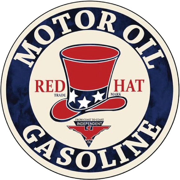 Red hat petroliana decal