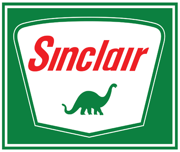 Sinclair petroliana decal