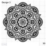 Mandala Designs - Fine Detail