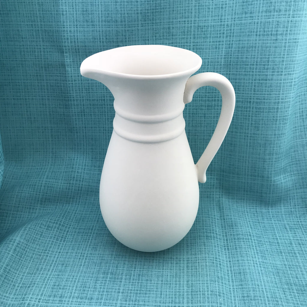Tall Fancy Pitcher