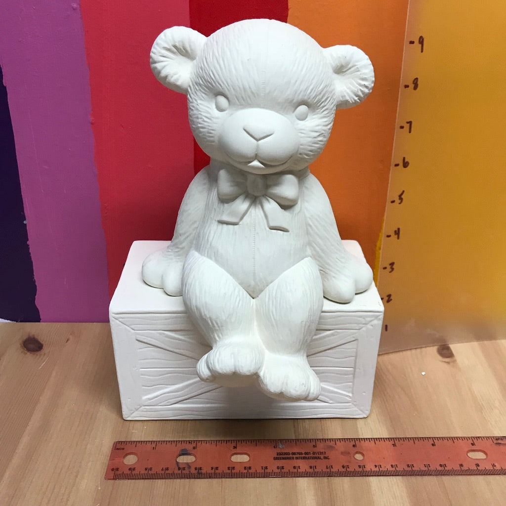 Sitting Boy Bear