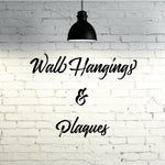 Wall Hangings & Plaques