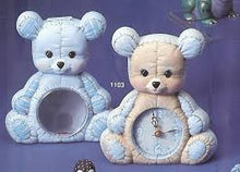 Load image into Gallery viewer, Kimple Teddy Bear Clock