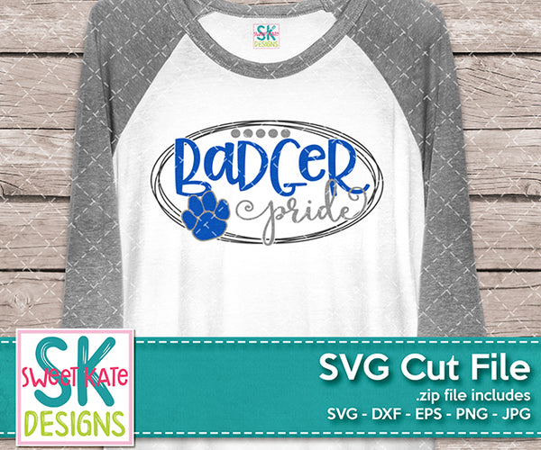 Badger Pride - Sweet Kate Designs