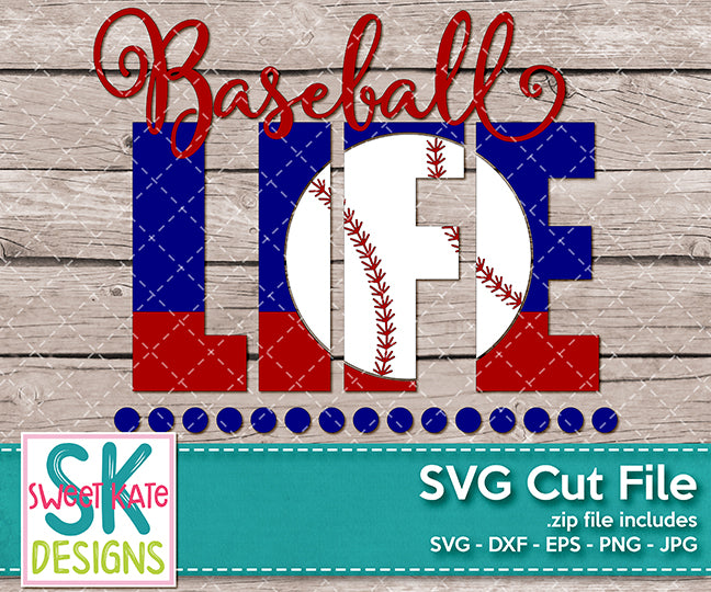 Baseball Life - Sweet Kate Designs