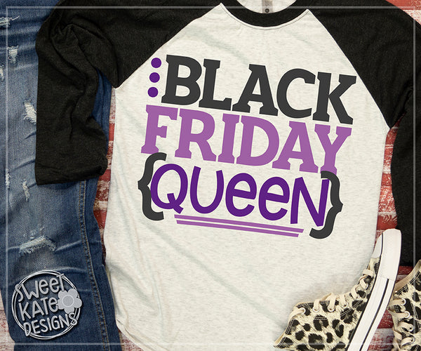 Black Friday Queen SVG DXF EPS PNG JPG
