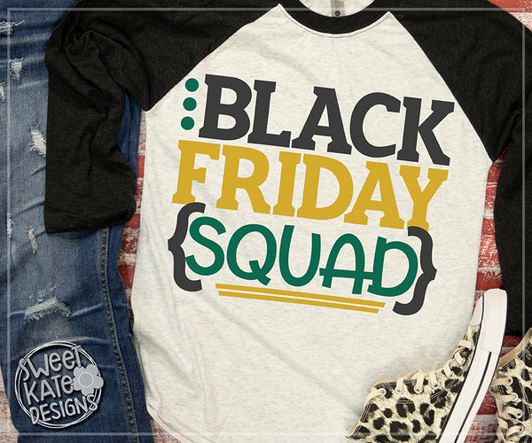 Black Friday Squad SVG DXF EPS PNG JPG