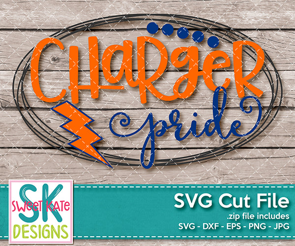 Charger Pride - Sweet Kate Designs