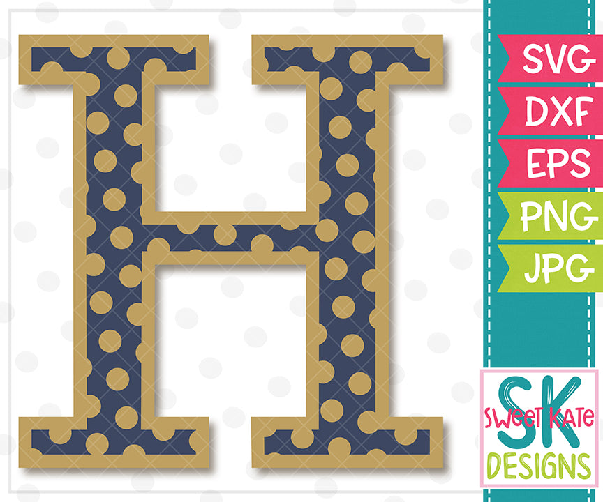 Greek Alphabet: Eta SVG DXF EPS PNG JPG - Sweet Kate Designs