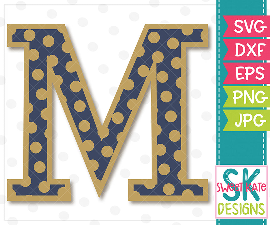 Greek Alphabet: Mu SVG DXF EPS PNG JPG - Sweet Kate Designs