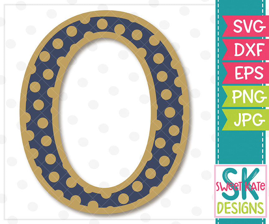 Greek Alphabet: Omicron SVG DXF EPS PNG JPG - Sweet Kate Designs