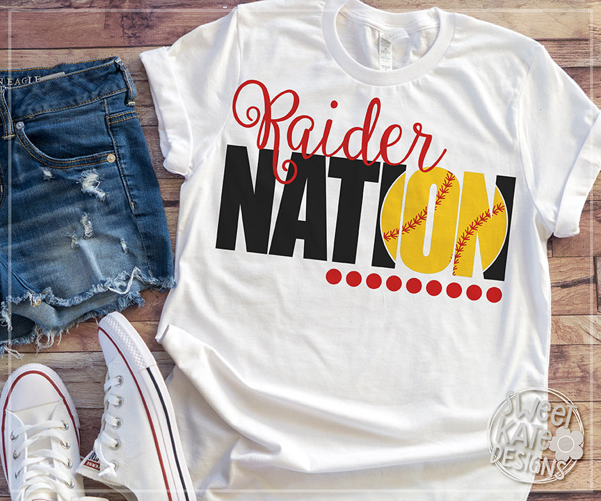 Raider Nation Bundle SVG DXF EPS PNG JPG - Sweet Kate Designs