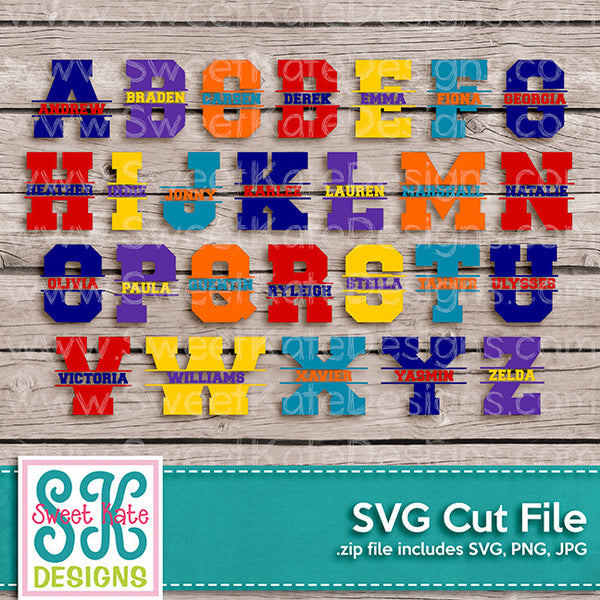 Letters & Fonts SVGs Tagged