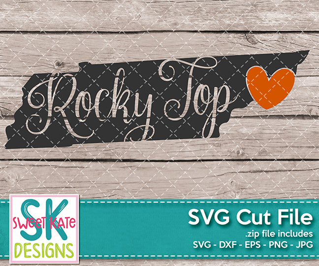 Tennessee Rocky Top - Sweet Kate Designs