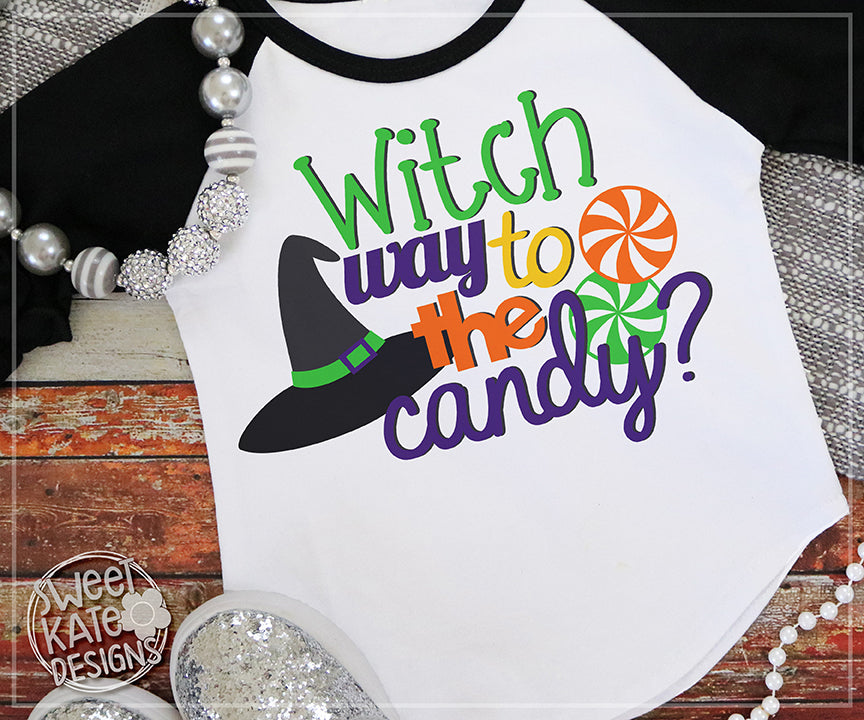 Witch Way to the Candy SVG DXF EPS PNG JPG