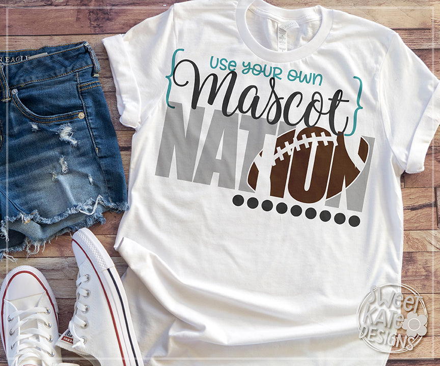 YOUR MASCOT Nation Bundle SVG DXF EPS PNG JPG - Sweet Kate Designs