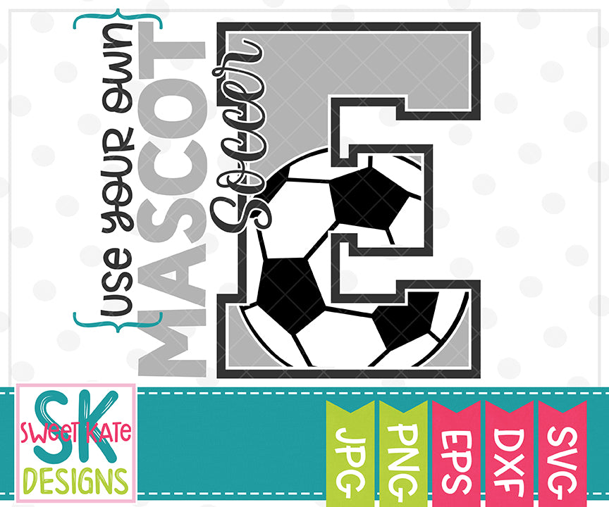 Your Own Mascot E Bundle SVG DXF EPS PNG JPG - Sweet Kate Designs